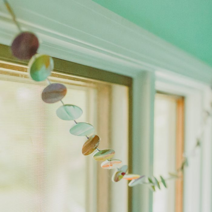 Punch Paper Garland